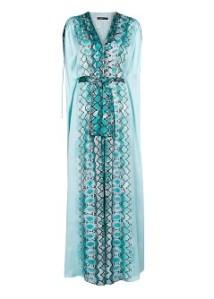 vestido largo estampado serpiente mango 119,99