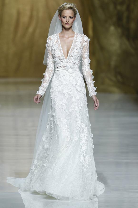 Elie Saab para pronovias 2014 vestidos de invierno