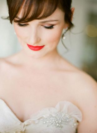 pinterest labios rojos novia 5